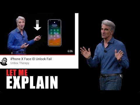 iPhone X Face ID Unlock Fail ? Let Me Explain