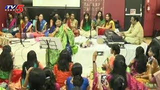Padma shri Dr.Shobha Raju Musical Event Held in Dallas- USA  - netivaarthalu.com
