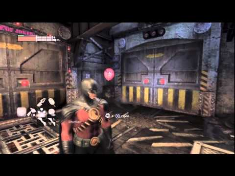 Batman Arkham City - Harley Quinn's Revenge DLC (Robin Gameplay)