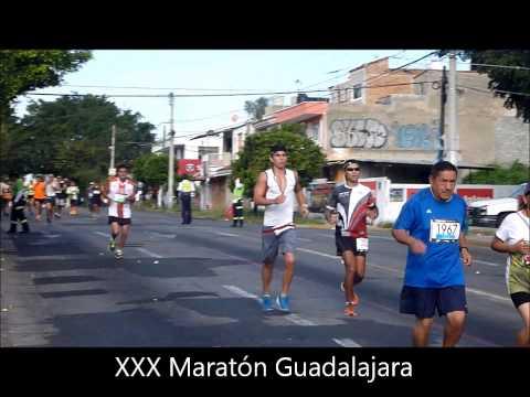 XXX Maratón de Guadalajara, los que corrieron y cómo corrieron
