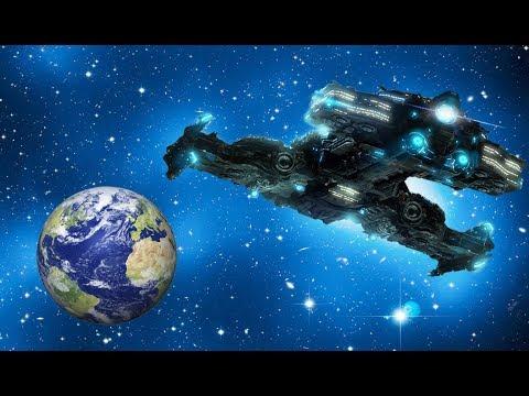 На орбите Земли обнаружили крупные корабли пришельцев