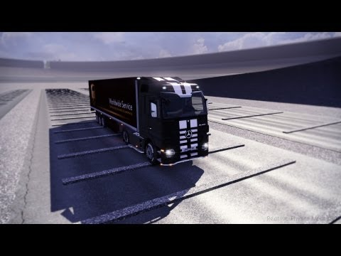 Euro Truck Simulator 2   Realistic Physics Mod v5.0   Now More Realistic!