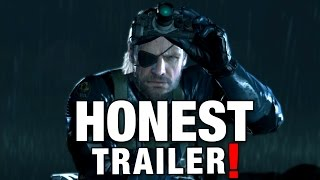 METAL GEAR SOLID (Honest Game Trailers)  from Smosh Games