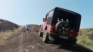 Mahindra di jeep to thar