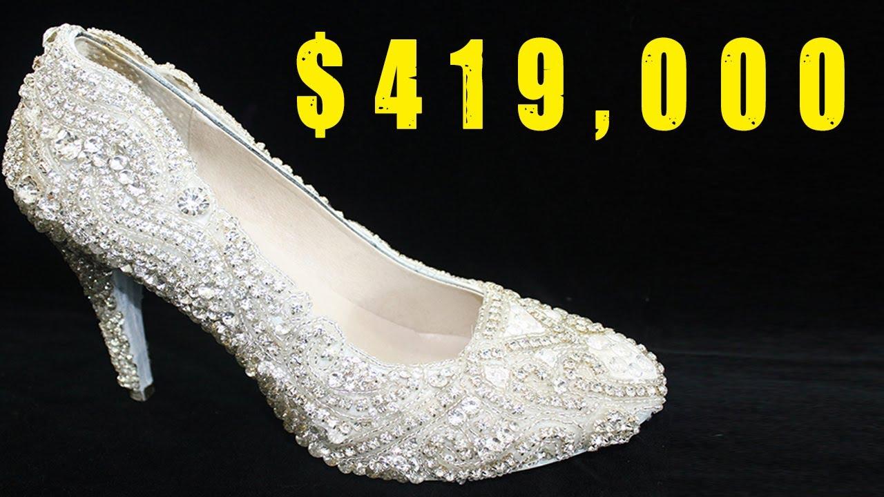 Diamond Encrusted Wedding Shoes