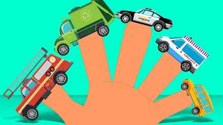 Street Vehicles | Finger Family Song | Nursery Rhyme | Kids Video