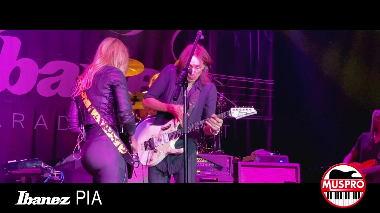"""Steve Vai - 「NAMM 2020 Ibanez Pia Concert」からNita Straussをフィーチャした""""The Animal""""などのライブ映像を公開中 thm Music info Clip"""