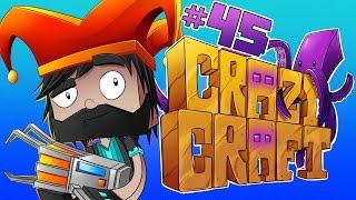 DAN DISINTEGRATED ME!!!! [#45] | Minecraft Crazy Craft 3.0