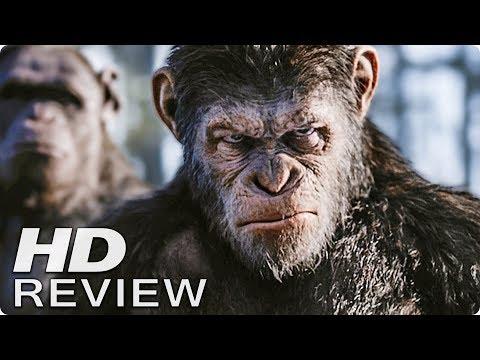 PLANET DER AFFEN 3: SURVIVAL Kritik Review (2017)