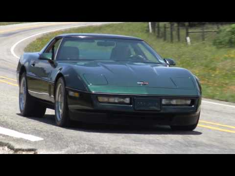 1990 Chevrolet Corvette C4 ZR-1 test drive with Samspace81 & The King of the Hill
