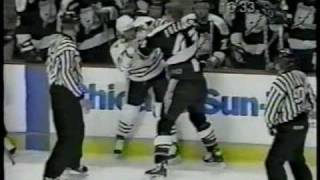 Top Ten Hockey Fights of the Decade