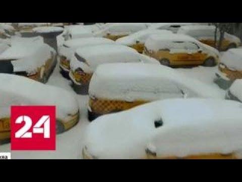 На северо-востоке Москвы обнаружили кладбище такси - Россия 24