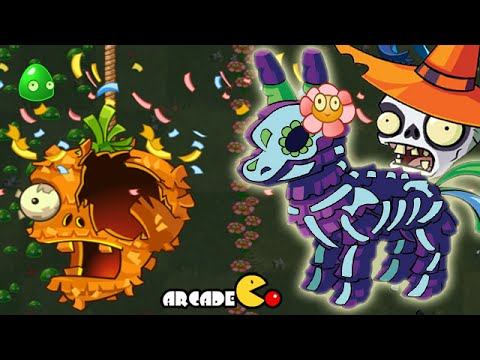 Plants Vs Zombies 2: Halloween Lawn Of Doom Pinata Party 11 1