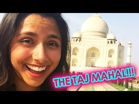 An American Sees The Taj Mahal For The First Time