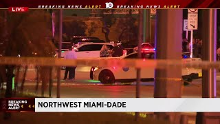 Manhunt, chase ends with suspect dead in Miami-Dade, police say