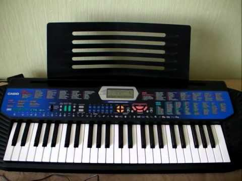 Casio CTK-411 and Yamaha PSR-E333