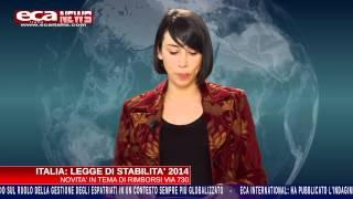 Eca Italia News - mobilità internazionale - ed. dicembre 2013