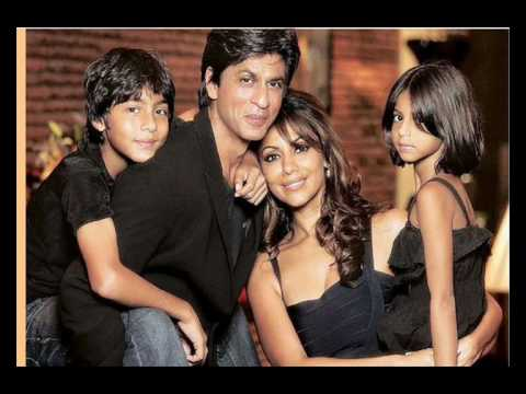 Shahrukh Khan and His Family Music Videos