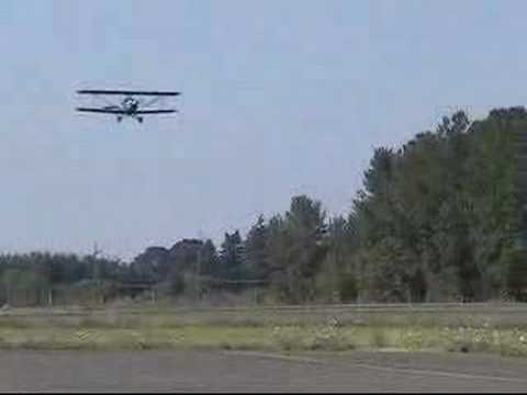 Fisher Classic Biplane First Flight