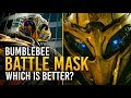 Transformers: Which Bumblebee Battle Mask Is The Best? 🤔