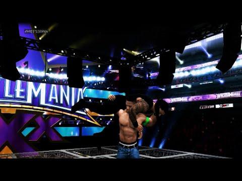 Wwe 2k15 - Roman Reigns Vs. John Cena Hell In A Cell Match video