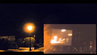 Heavy Thunderstorm, Full Movie - Sandweiler Luxembourg July 27th, 2012