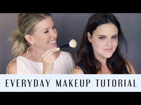 NATURAL EVERYDAY MAKEUP TUTORIAL  ft. JEN LUVS REVIEWS    OVER 40