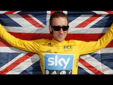 Image video Wiggins remporte le Tour de France