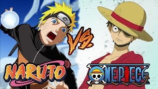 Versus de Animes: Naruto Vs One Piece | MarooStation