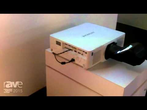 ISE 2015: Hitachi Exhibits CP-WU9411 Projector