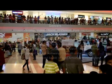 Mumbai's Third FLASH MOB at KORUM MALL OFFICIAL VIDEO