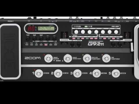 Zoom G9.2tt Guitar Multi-Effects