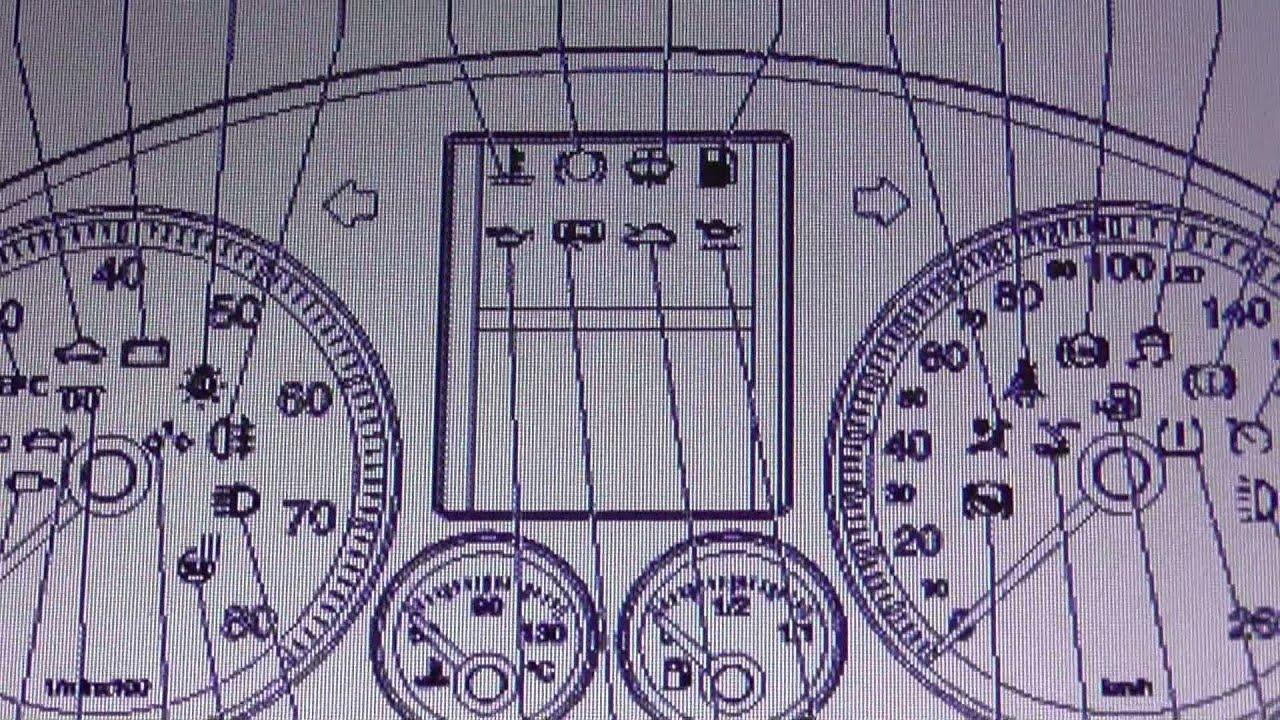 2000 Volkswagen Jetta Dashboard Symbols