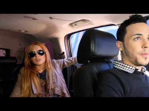 Lindsay Lohan: Paparazzi chase