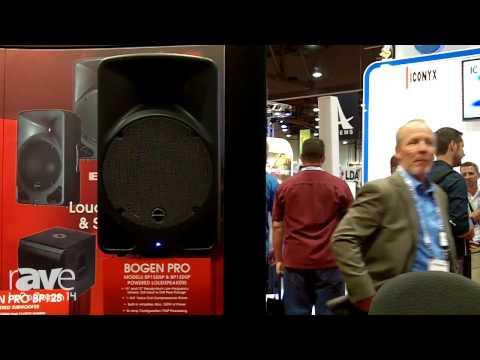 InfoComm 2014: Bogen Shows New Bogen Pro BP15DSP and BP12DSP Powered Loudspeakers