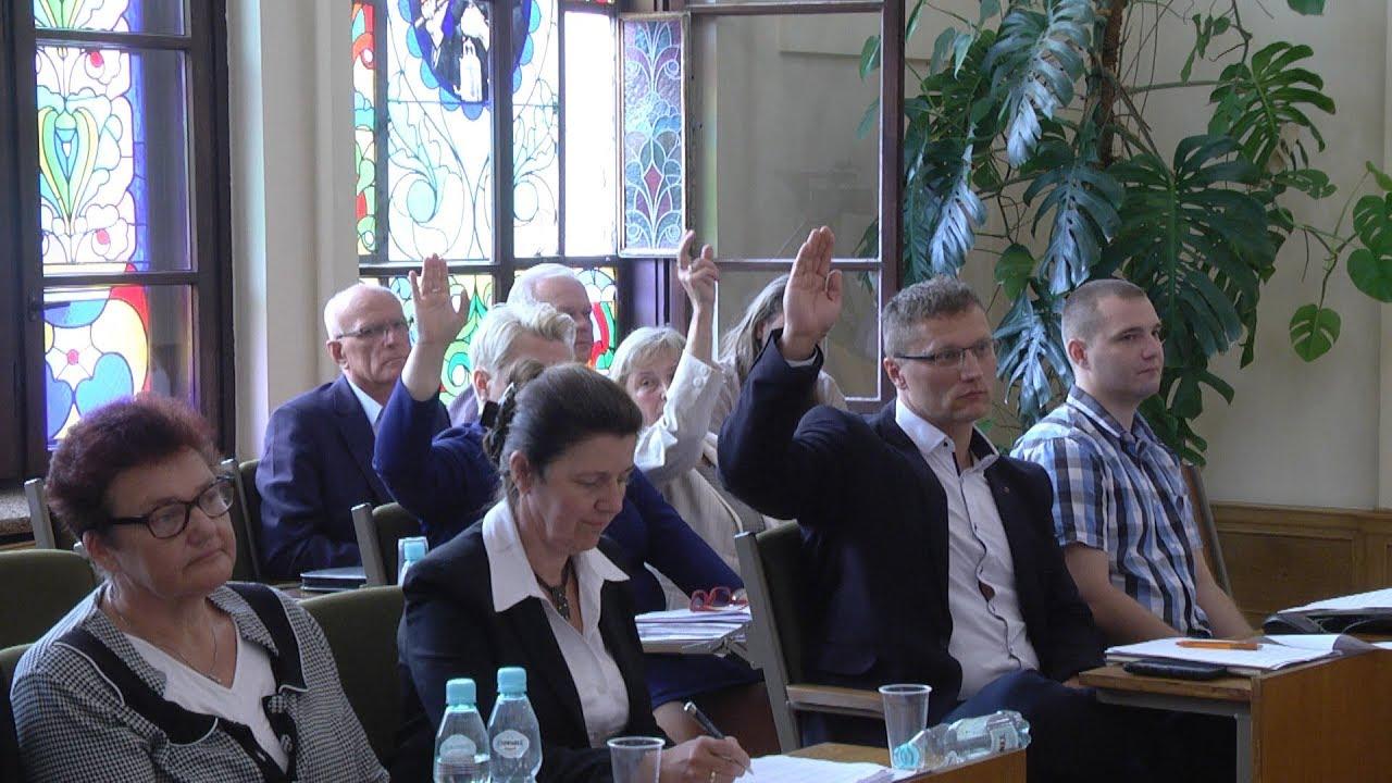 L sesja Rady Miejskiej, część II