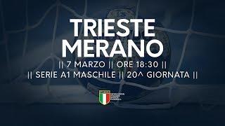Serie A1M [20^]: Trieste - Merano 26-24