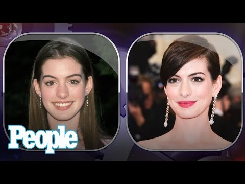 Anne Hathaway's Evolution of Looks | Time Machine | PEOPLE