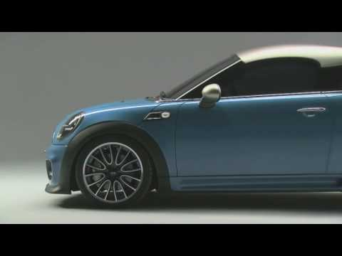 Gizmag @ IAA 2009 - The Mini Coupe Concept