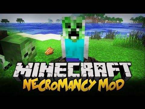 Minecraft Mody 1.4.5 STWÓRZ SWOJEGO SŁUGĘ Necromancy Mod