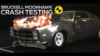 Bruckell Moonhawk Sport IIHS/EuroNCAP Crash Testing - Revolutionary Soft-Body Physics [HD]