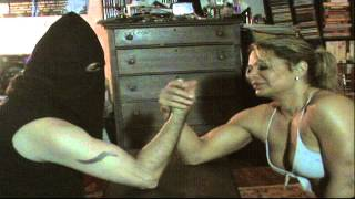 Arm Wrestling with Michelle