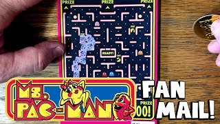 FAN MAIL! MS. PAC MAN LIVES! + LOTERIA ✦ Washington Lottery Scratch Offs