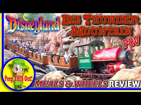 Disneyland®   Big Thunder Mountain POV & Kalua Pork Slider Review! Peep THIS Out! 🎢🍴