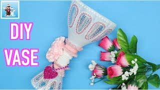 Awesome DIY Vase from Plastic Bottles Art and Craft Ideas