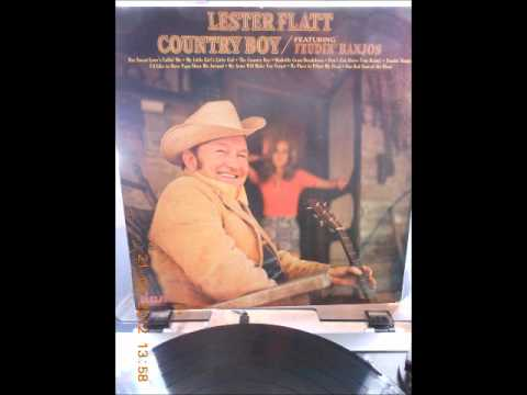 Lester Flatt---No Place To Pillow My Head