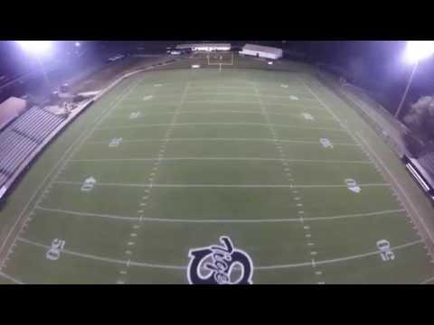 Straughn High School Football Stadium Flyover