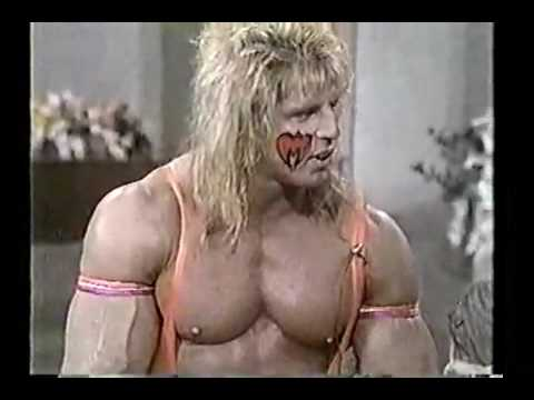 Ultimate Warrior On Regis And Kathy Lee