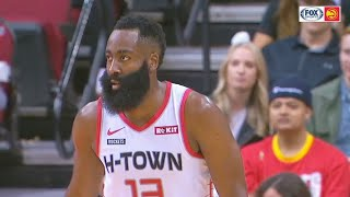 James Harden 60 Points Disrespects Hawks In Insane Blowout! Rockets vs Hawks 2019 NBA Season