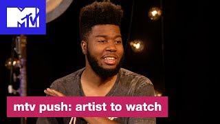 Khalid Breaks Down Writing 39 Young Dumb Broke 39 Push Artist To Watch Mtv